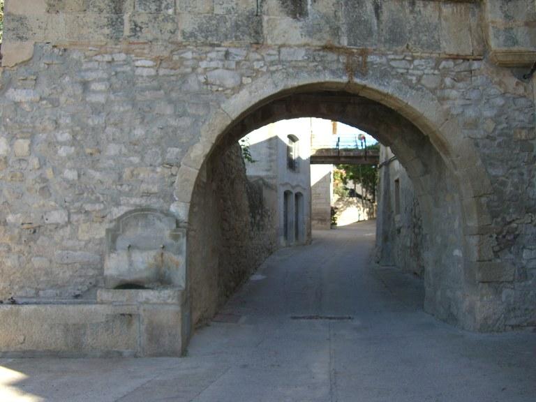 pont casa pairal cal Bergadà- tarda.jpg